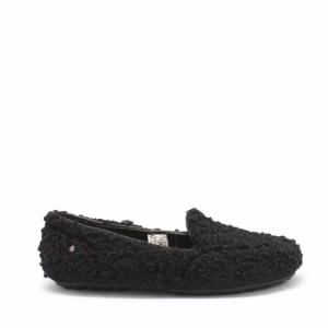 UGG Women's Hailey Fluff Loafer Black